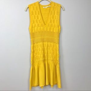 Max Studio Textured Fit and Flare dress Size L